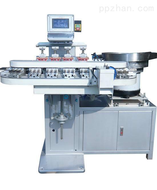 全自动尺码夹移印机衣架粒尺码圈移印设备