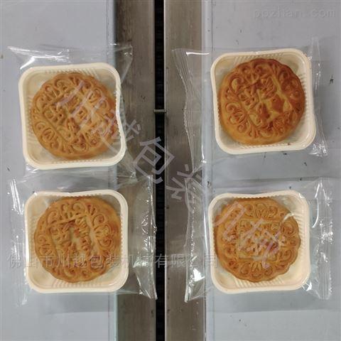 酥皮月饼自动包装设备,莲蓉月饼包装机械