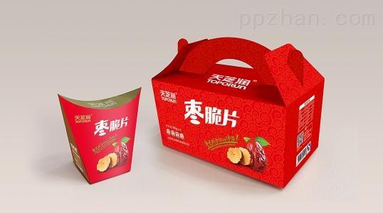 手提包装盒定制食品彩盒包装 土特产礼品盒