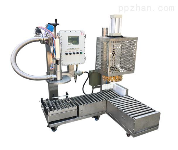 5升自动灌装机 5-7升塑料桶自动分装机