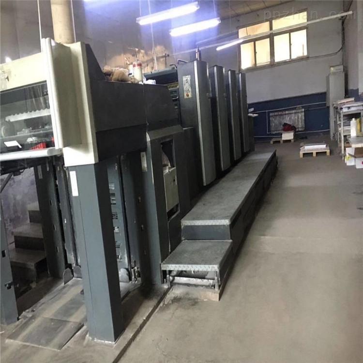 出售海德堡SM74四色印刷机