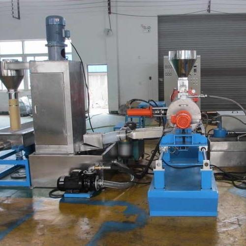 PP无纺布母粒造粒机 PP填充造粒设备