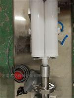 wf卧式气动膏体灌装机--316材料制成
