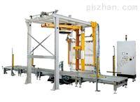 全自动悬臂在线式缠绕包装机(压顶、覆膜